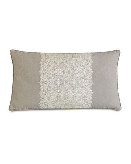 "King Thayer Pillow, 21"" x 37"""