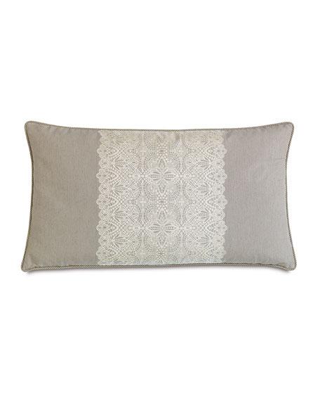 """King Thayer Pillow, 21"""" x 37"""""""