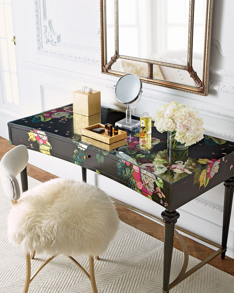 Cynthia Rowley For Hooker Furniture Fleur De Glee Writing Desk