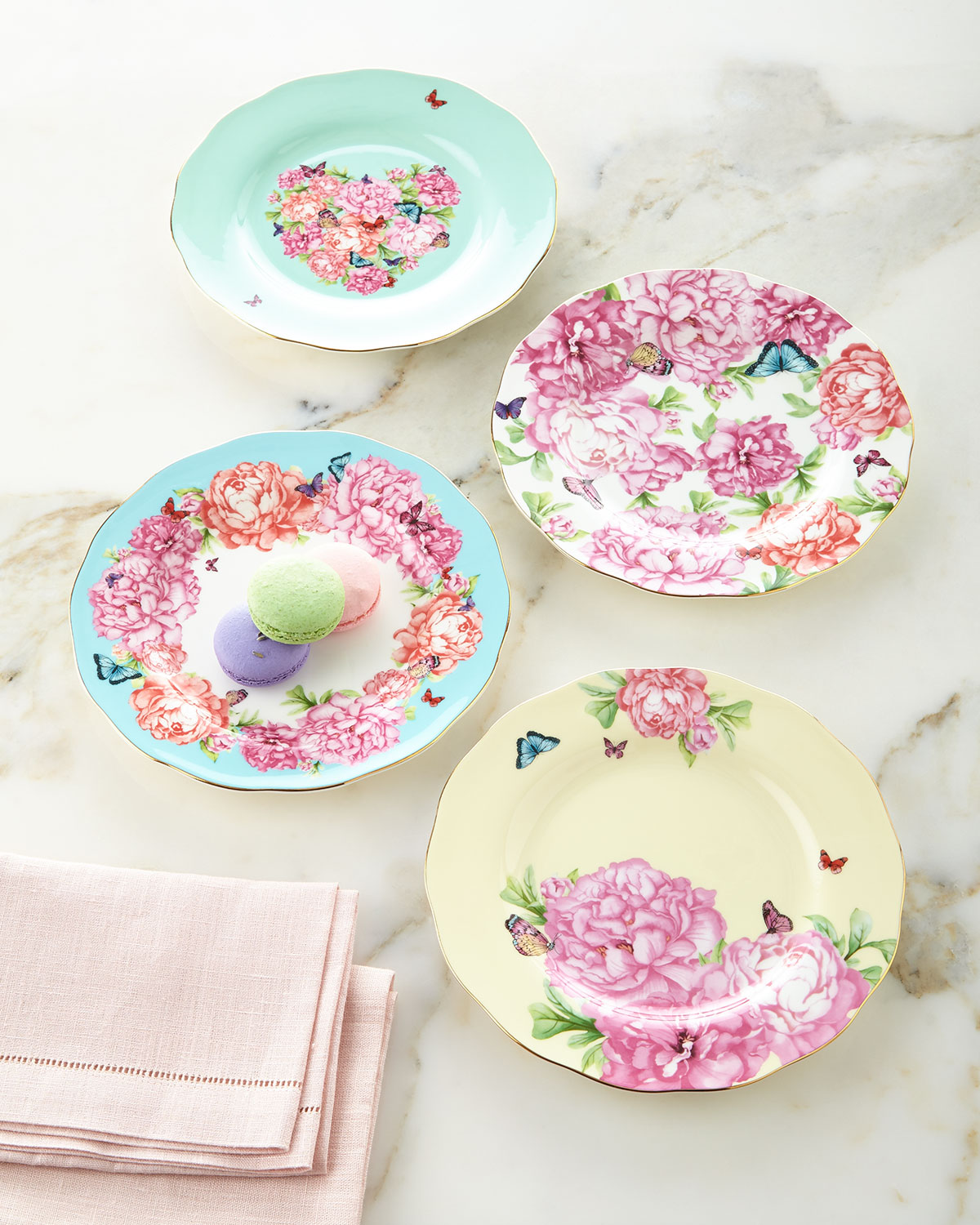 Gorgeous plates for spring