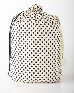 Black Dots Laundry Bag