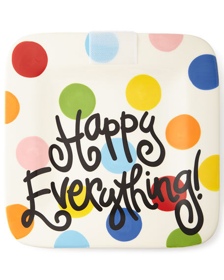 Happy Everything Bright-Dot Mini Platter