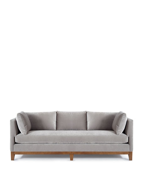 Smoke Shadow Velvet Sofa