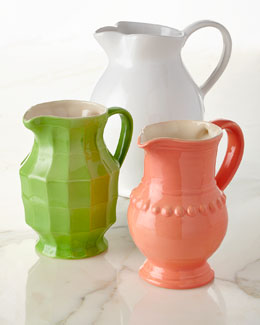 Assorted Pitchers, Set of 3