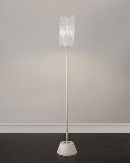 John Richard Collection Selenite Floor Lamp