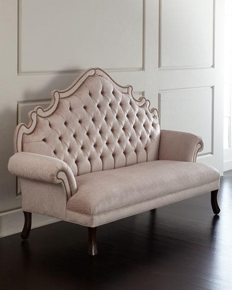 haute house william dining chair daniella tufted. Black Bedroom Furniture Sets. Home Design Ideas