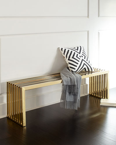 Willis Brass Bench