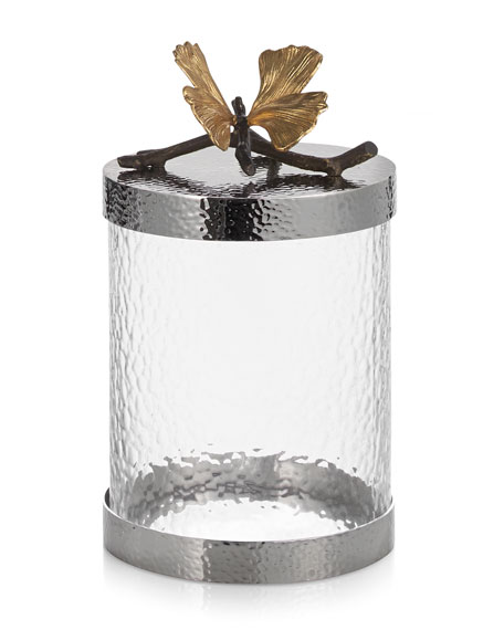 Butterfly Gingko Small Canister