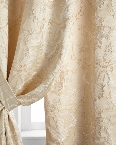 Two 52W x 108L Charlotte Curtains
