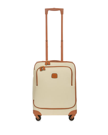 "Firenze Cream 21"" Carry-On Spinner Luggage"