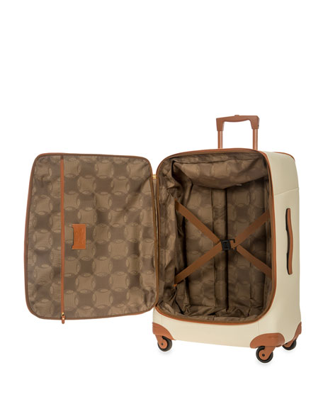 "Firenze Cream 30"" Light Spinner Luggage"