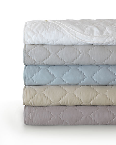 eastern accents king violetta coverlet