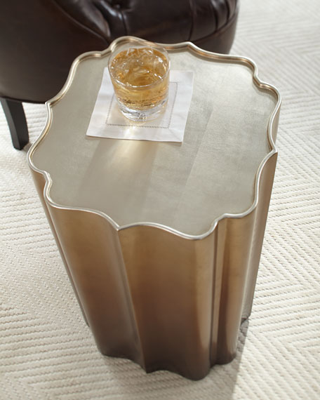Electra Golden Accent Table