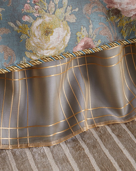 Queen/King Montiverde Plaid Dust Skirt