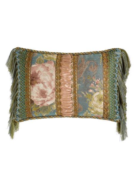 "Florabundance Pillow, 14"" x 21"""