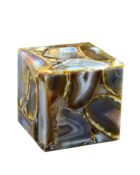 Taj Agate Box