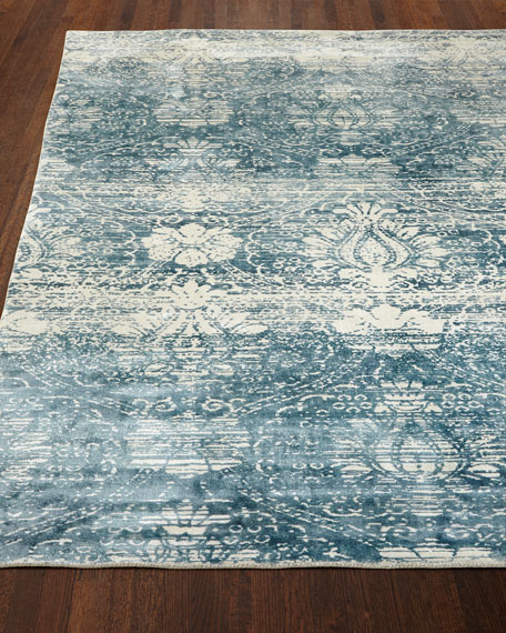 Exquisite Rugs Evening Blue Rug, 8' x 10'