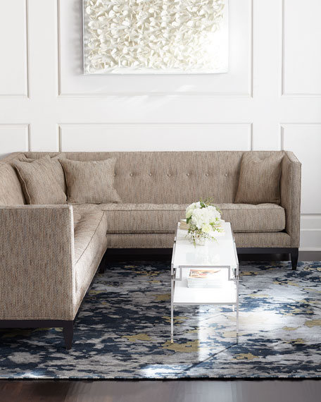 Old Hickory Tannery Hudson Tufted Linen Sofas And Loveseat