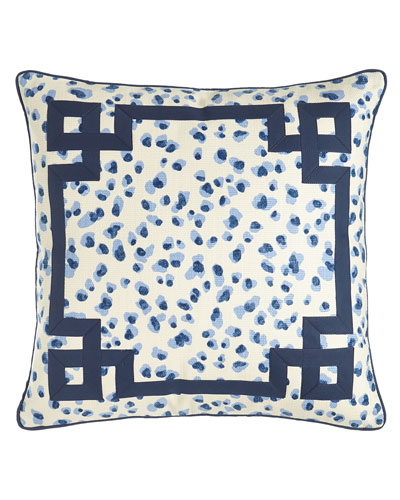 Ellie Leopard-Spot Pillow  20Sq.