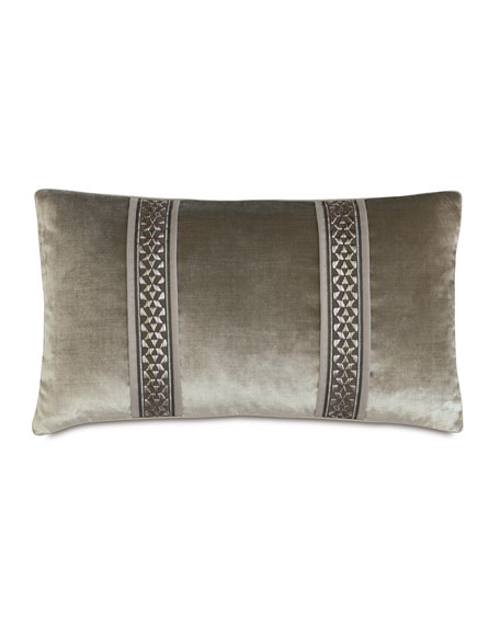 "Ezra Bolster Pillow, 15"" x 26"""