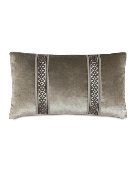 """Ezra Bolster Pillow, 15"""" x 26"""""""