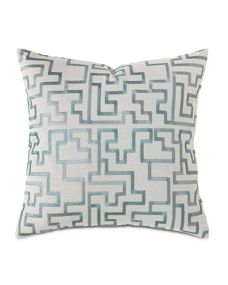 Central Park Fretwork Pillow, 22