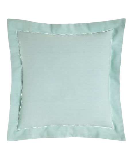 "Hemstitch Pillow, 20""Sq."