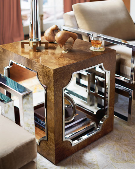Tavian Luxe End Table