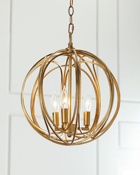 ofelia medium 3light pendant