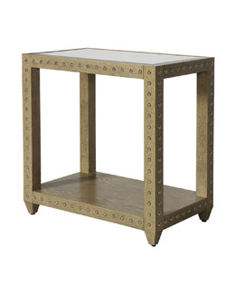 Andre Oak Side Table