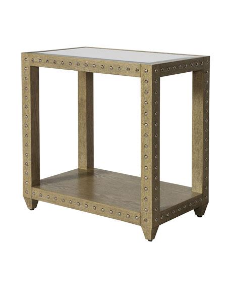 Andre Oak Side Table