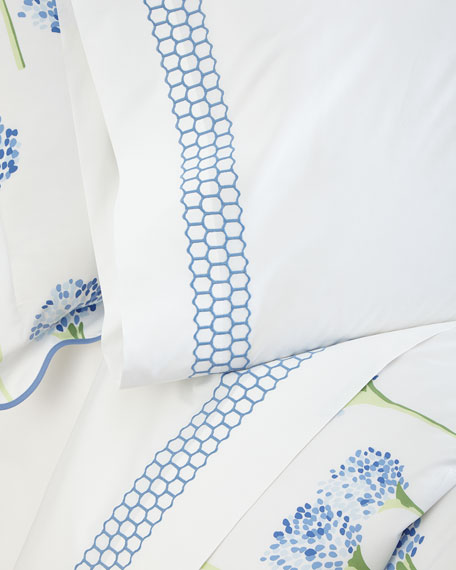 Full/Queen Liana 520 Thread Count Flat Sheet