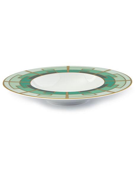Emerald Soup Plate