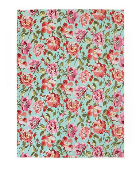 Rose Parade Rug, 8' x 10'