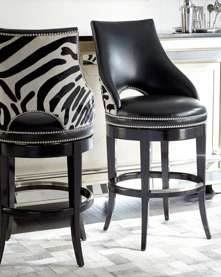 Counter Height Bar Stools With Back Black