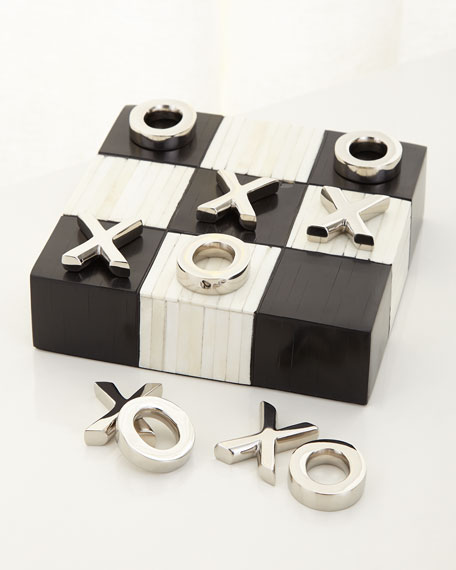 Tic Tac Toe - Flat with Nickel