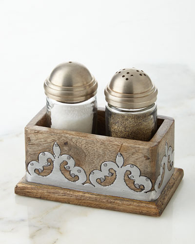 Heritage Salt & Pepper Shakers