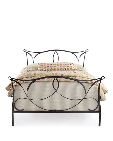 Burton Iron King Bed