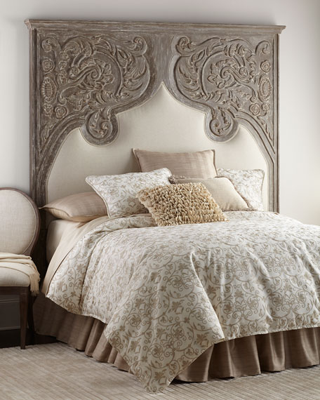 Erlina Carved Queen Headboard