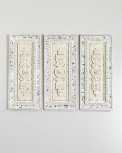 Flavia Wall Plaques, Set of 3