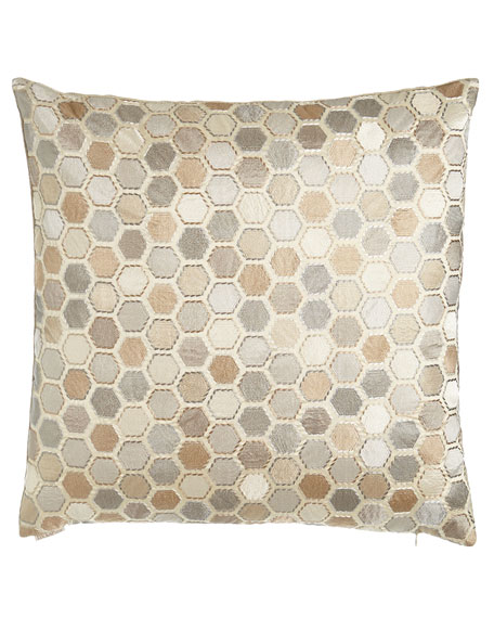D.V. Kap Home Gem Market Alabaster Pillow