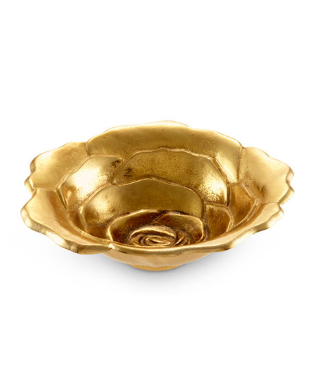 """Rose 8"""" Golden Bowl"""