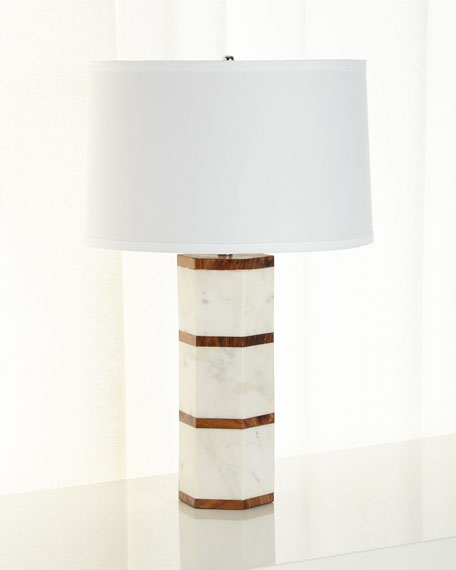 Alysander Hexagonal Lamp