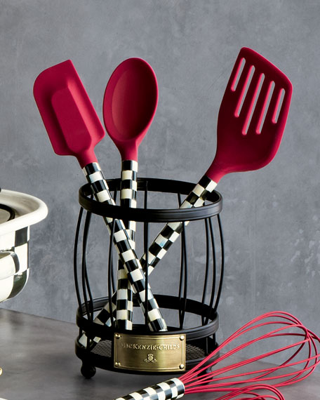 Courtly Check Red Spoon