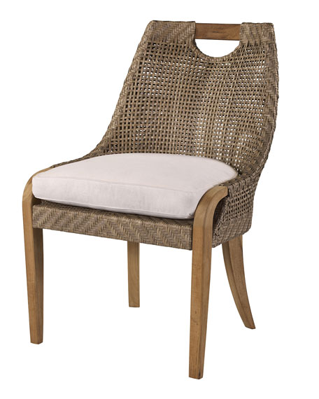 Lane Venture Edgewood Outdoor Dining Side Chair