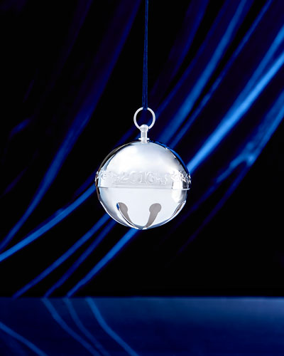 2016 Silver-Plated Sleigh Bell