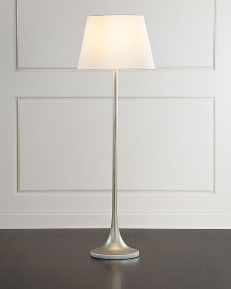Silver tone floor lamp for Silver tone floor lamp