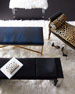 Attina Leopard Bench