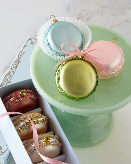 Katherine's Collection French Macaron Christmas Ornaments