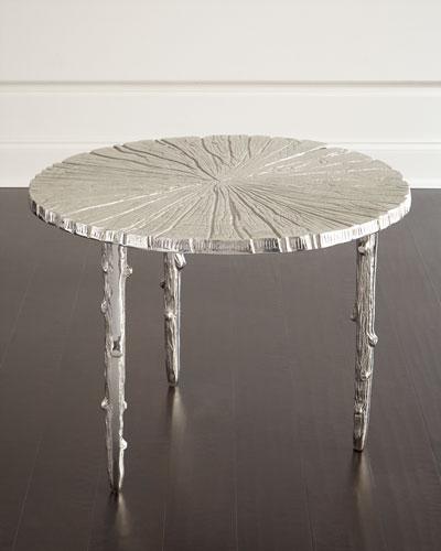 Tree-Texture Side Table